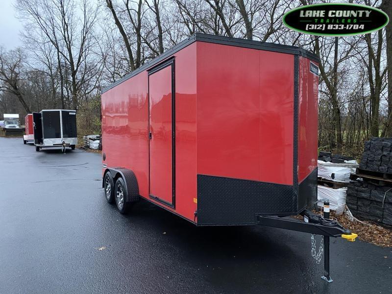 2021 Haulmark Transport V 7X16 With 7' Interior. Trades OK Enclosed Cargo Trailer