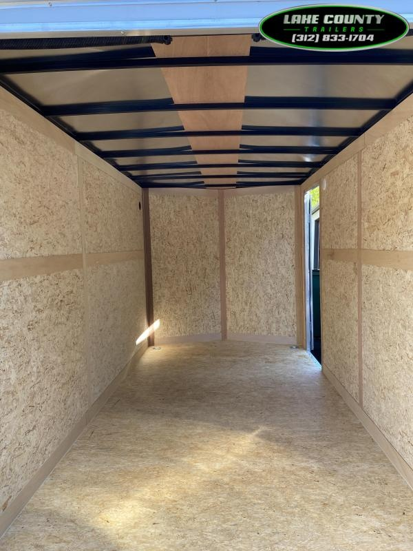 2021 Haulmark Passport 7X14 With 7' Interior. Trades OK Enclosed Cargo Trailer
