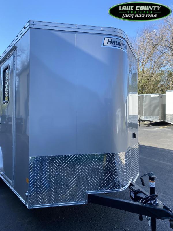 2021 Haulmark TSV 7X16 With 7' Interior. Air/Heat. Trades OK Enclosed Cargo Trailer