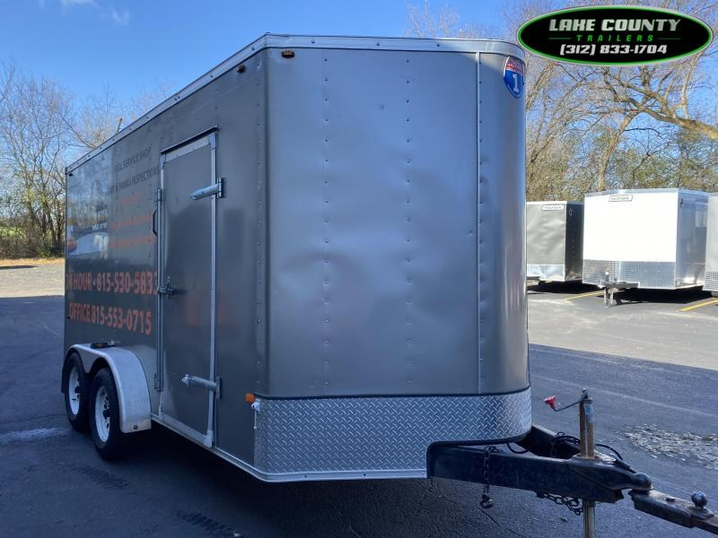 2014 Interstate 1 Trailers 7X14 With 7' Interior Enclosed Trailer Enclosed Cargo Trailer