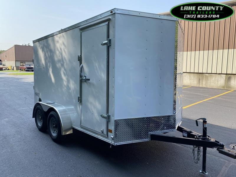 2021 Haulmark Passport DLX 7X12 Tandem Axle. We Take Trades Enclosed Cargo Trailer