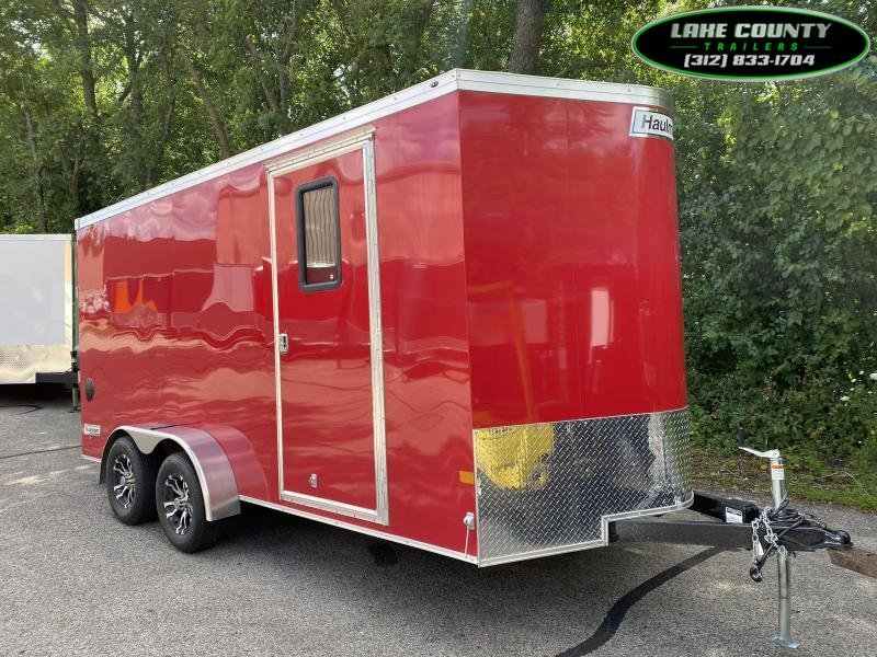 2020 Haulmark Transport V 7X16X7 With Air/Heat. We Take Trades Enclosed Cargo Trailer