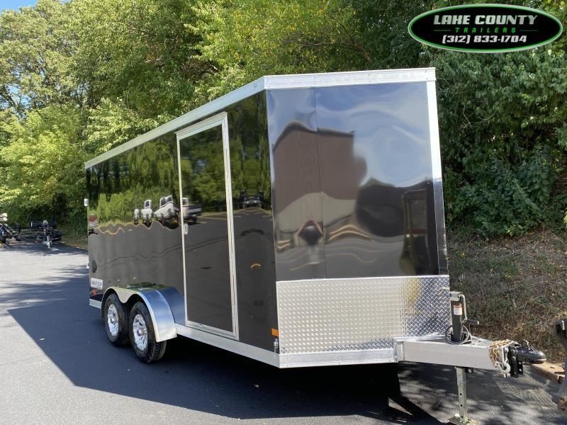 2021 Haulmark Grizzly Aluminum 7X16X7. We Take All Trades Enclosed Cargo Trailer