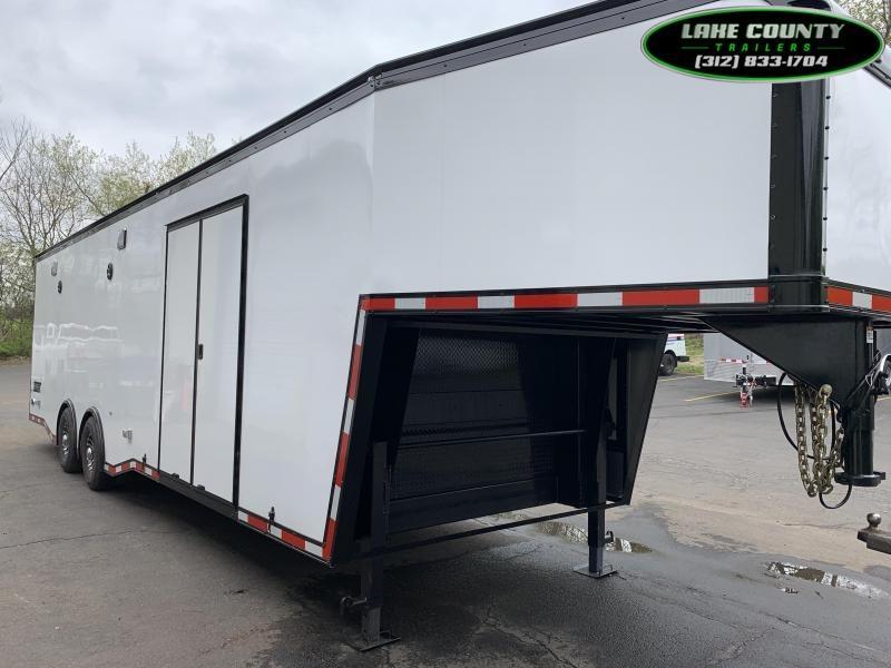 2021 Haulmark Edge Gooseneck 8.5X36 Car / Racing Trailer