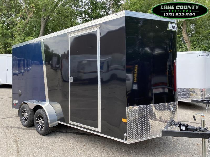 2020 Haulmark Transport V 7X16 With Air/Heat & 7' Interior Enclosed Cargo Trailer