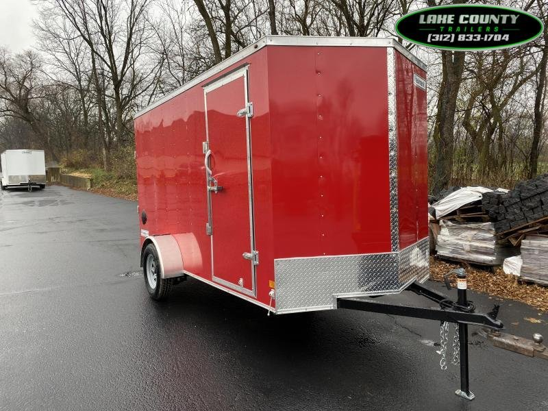 2021 Haulmark Passport DLX 6X12 Enclosed Trailer. Trades OK Enclosed Cargo Trailer