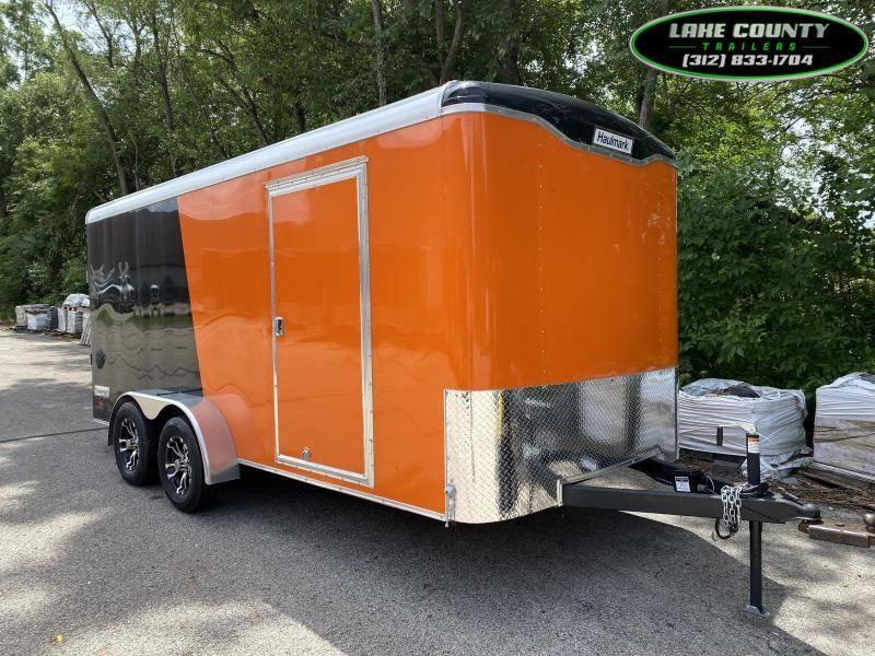2021 Haulmark Transport 7X16 Enclosed Trailer. We Take Trades Enclosed Cargo Trailer
