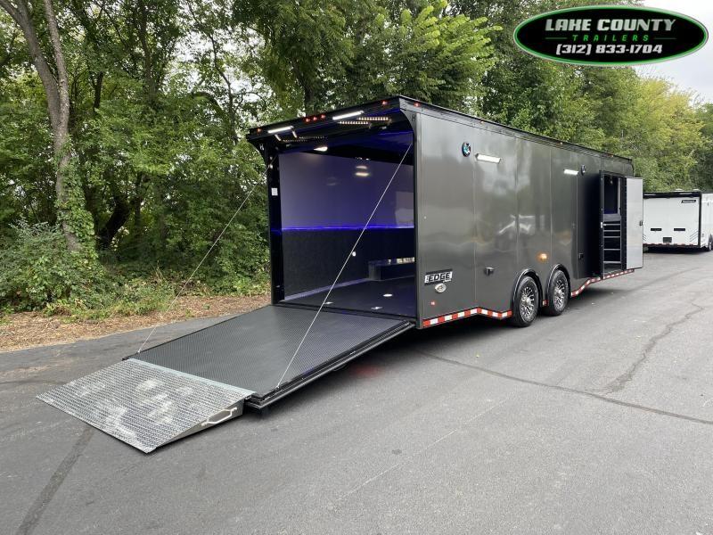 "2022 Haulmark EDGE 8.5X28 with 7'4"" Interior Height Car / Racing Trailer"