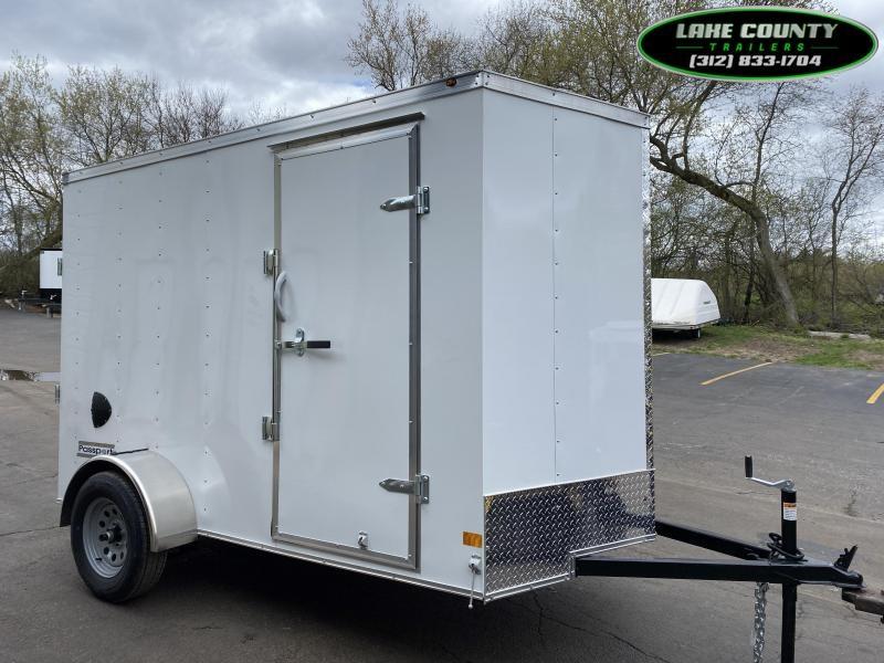 2021 Haulmark PP 6X10 Enclosed Trailer With Ramp Door Enclosed Cargo Trailer