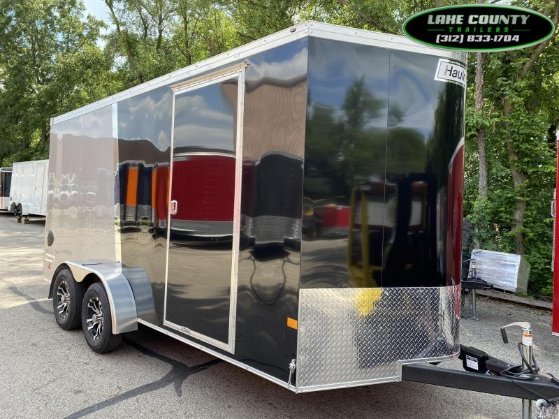 2020 Haulmark Transport 7X16 Enclosed Trailer With 7' Interior Enclosed Cargo Trailer