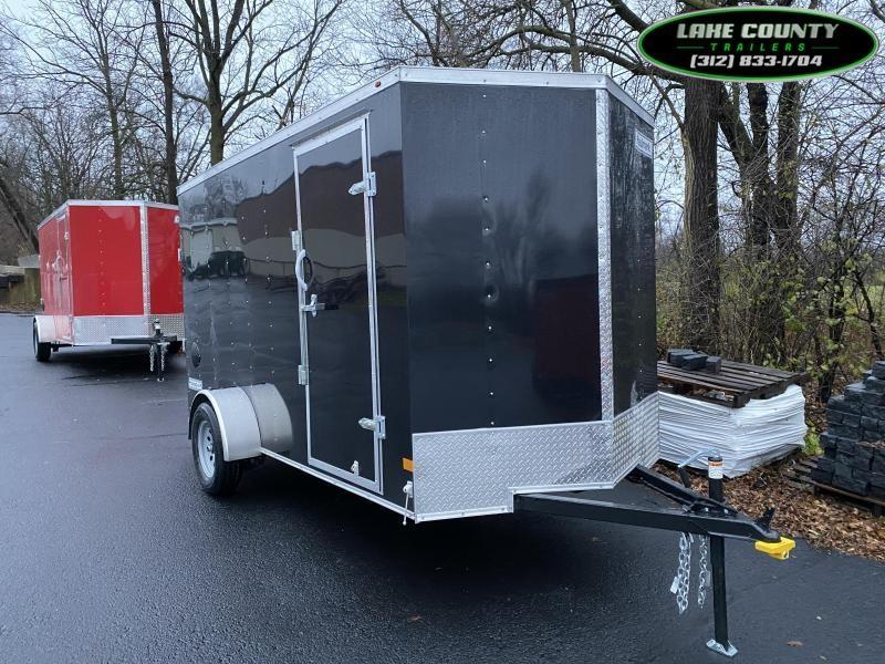 2021 Haulmark PP-D 6X12 Black Enclosed Trailer. We Take Trades Enclosed Cargo Trailer