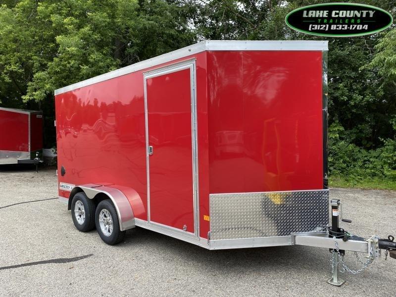 2021 Haulmark Grizzly Aluminum Enclosed Trailer 7X14 Aluminum NEW MODEL. Trades Enclosed Cargo Trailer