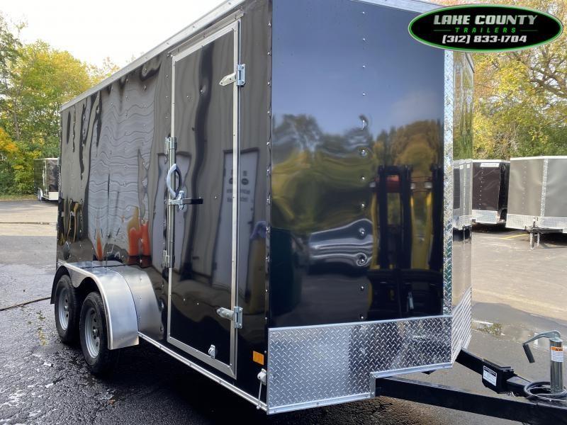 2021 Haulmark PP-Deluxe 7X14X7 Enclosed Trailer We Take Trades Enclosed Cargo Trailer