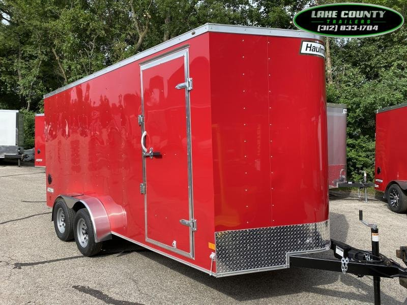 2021 HAULMARK Passport DLX 7X16 Enclosed Trailer.  We Take Trades