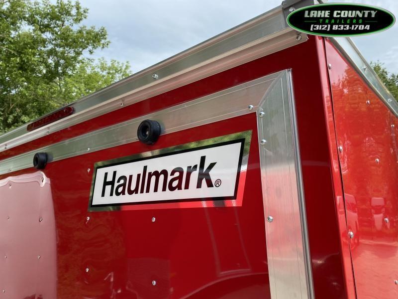 2021 HAULMARK Passport DLX 7X16 Enclosed Trailer.  We Take Trades