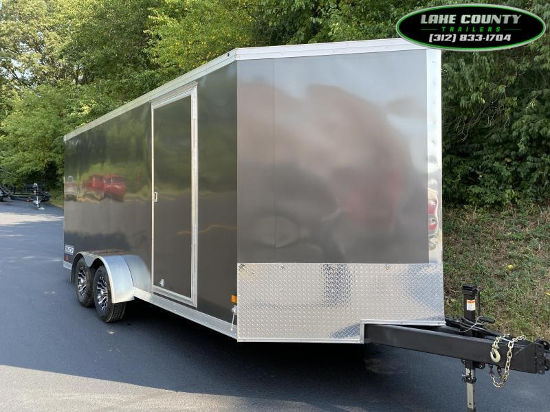 2021 Haulmark Grizzly V HD 7X18X7. We Take All Trades Enclosed Cargo Trailer