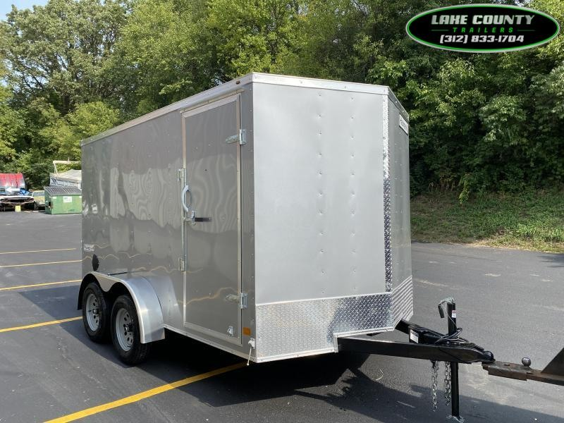 2021 Haulmark Passport DLX 7X12 Tandem. We Take All Trades Enclosed Cargo Trailer