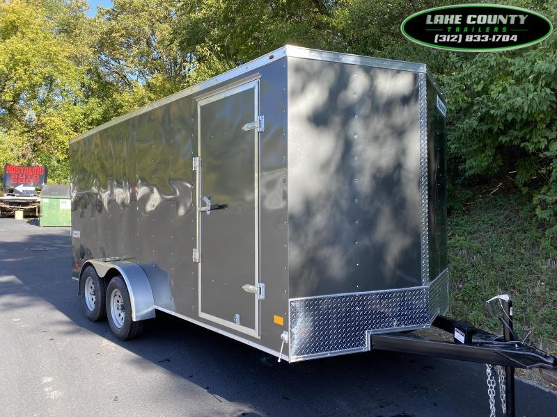 "2021 Haulmark Passport 7X16 With 6' 6"" Interior Height Enclosed Cargo Trailer"