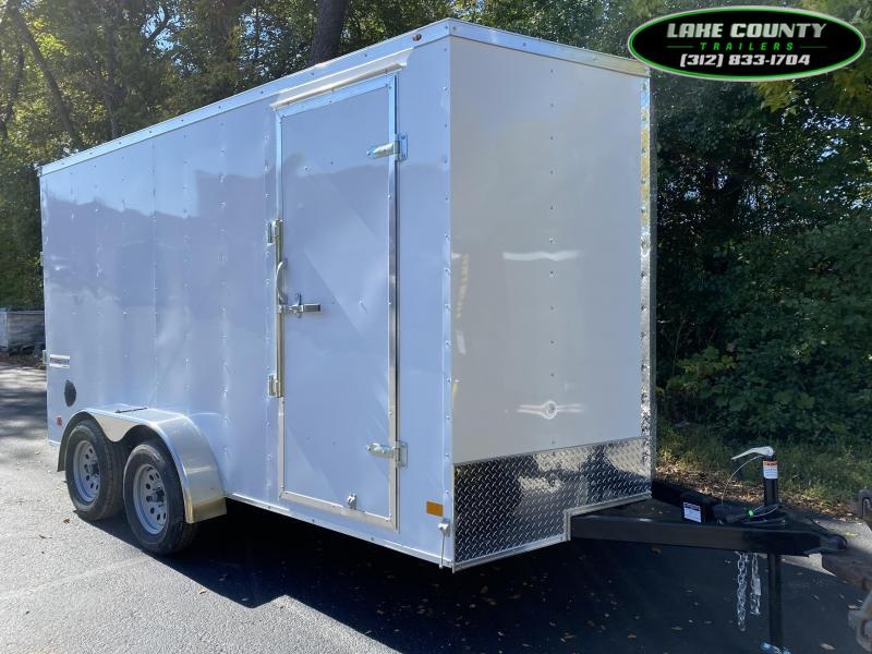 2021 Haulmark Passport deluxe 7x14x7 Enclosed Trailer. Trades Enclosed Cargo Trailer