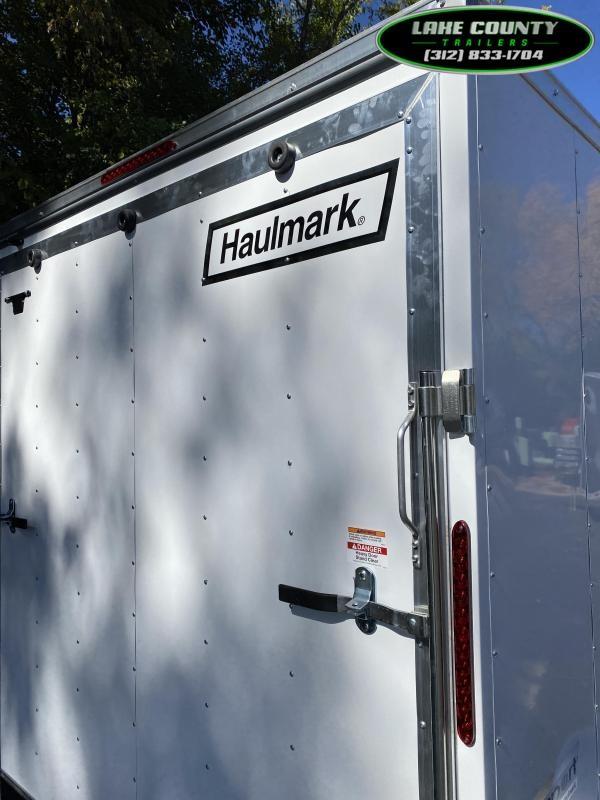 2021 Haulmark Passport deluxe 7x14x7 Enclosed Trailer. Trades Enclosed Cargo Trailer