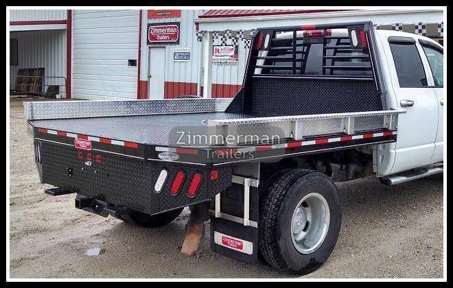 2019 Zimmerman 97x102 Steel Truck Body