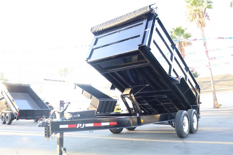 2020 PJ Trailers 83 14 Low Pro by 4 high Dump Trailer