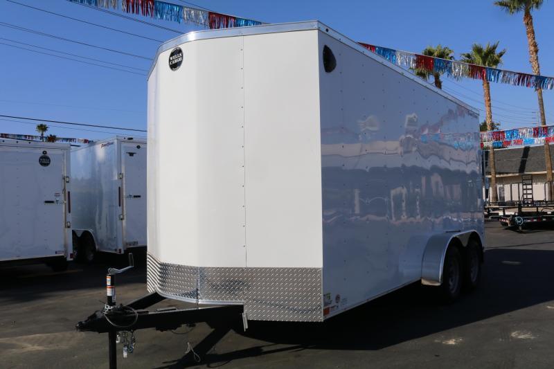 2020 Wells Cargo 7x16x83 Enclosed Cargo Trailer