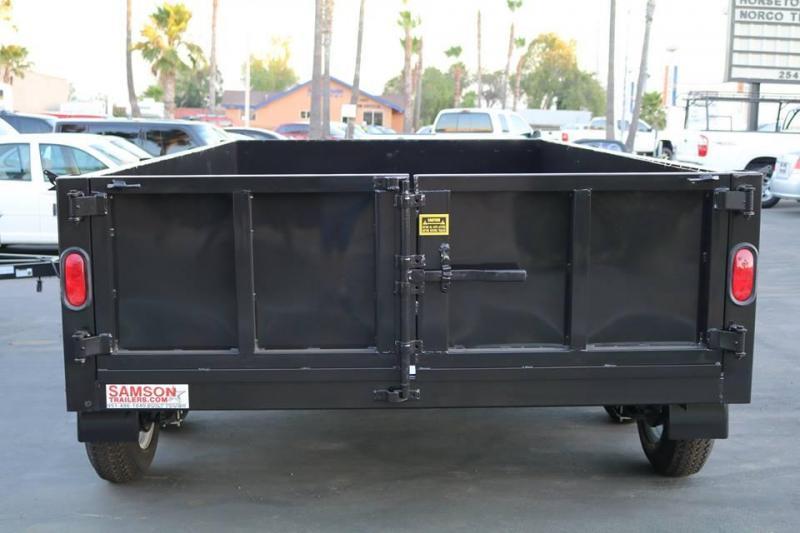 2020 Stellar 8x12x2 7K Dump Bed
