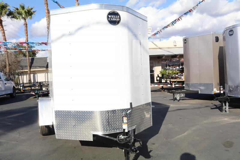 2020 Wells Cargo 5x8x6 Enclosed Cargo Trailer