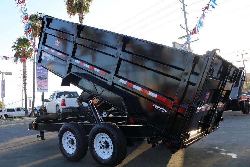 2022 PJ Trailers 14x83 dm low pro 14000 Dump Trailer