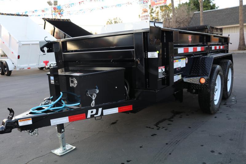 2022 PJ Trailers 5x10x2 Dump Trailer