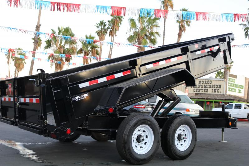 2021 PJ Trailers 14x83 low-pro 14000 gvwr Dump Trailer