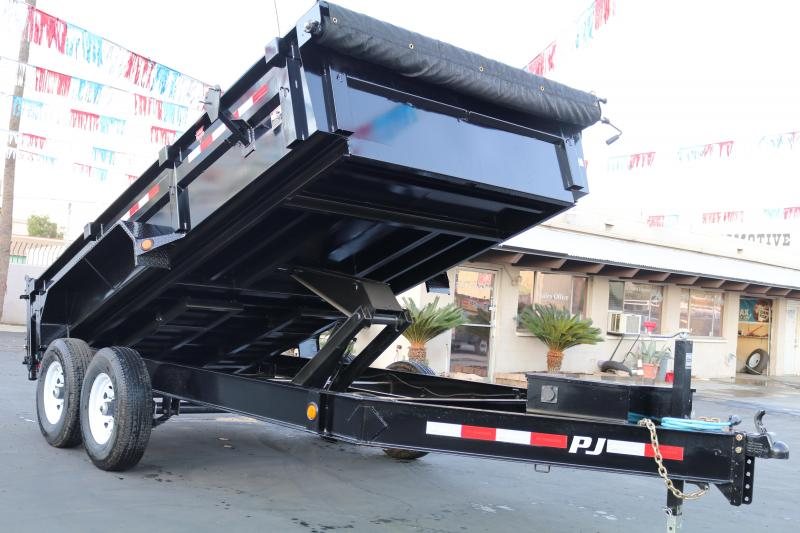 2020 PJ Trailers 14x83 low-pro 14000 gvwr Dump Trailer