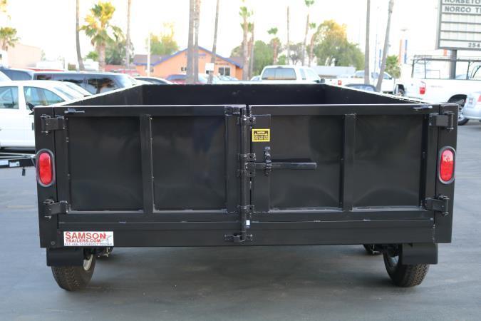 2021 Stellar 8x10x2 7K Dump Bed
