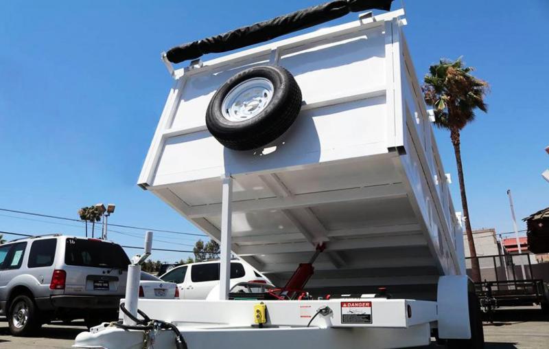 2020 Samson 8x12x4 10K Dump Bed