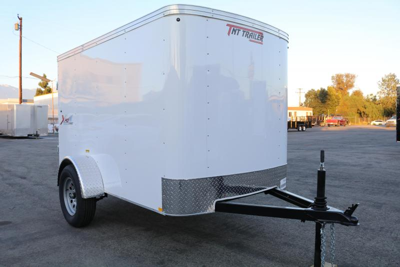 2021 Mirage Trailers 5x8sa Enclosed Cargo Trailer