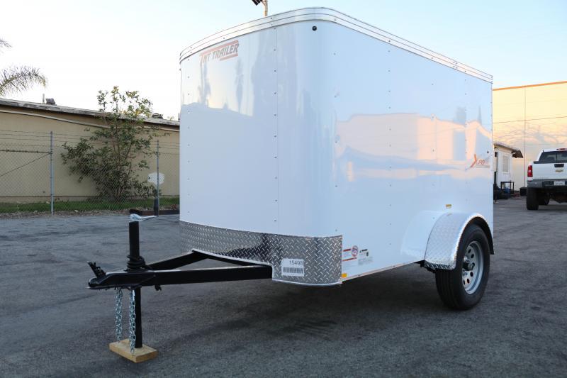 2021 Mirage Trailers 5x8sa Enclosed Cargo Trailer