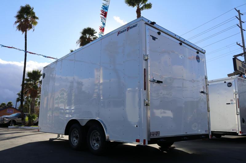 2020 Wells Cargo 85x16x7 Enclosed Cargo Trailer