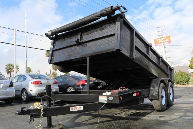 2020 Stellar 8.5x14x2 14000 low-pro Dump Bed