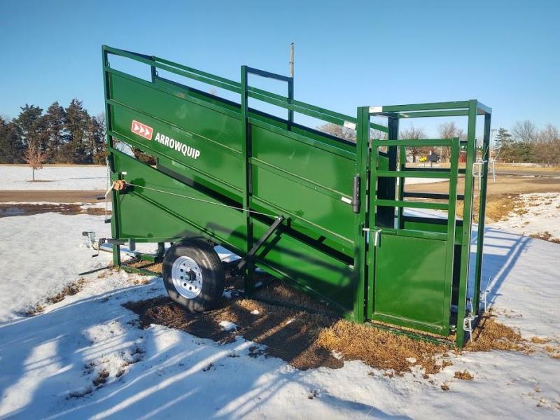 2020 Arrowquip Cattle loading Chute Livestock