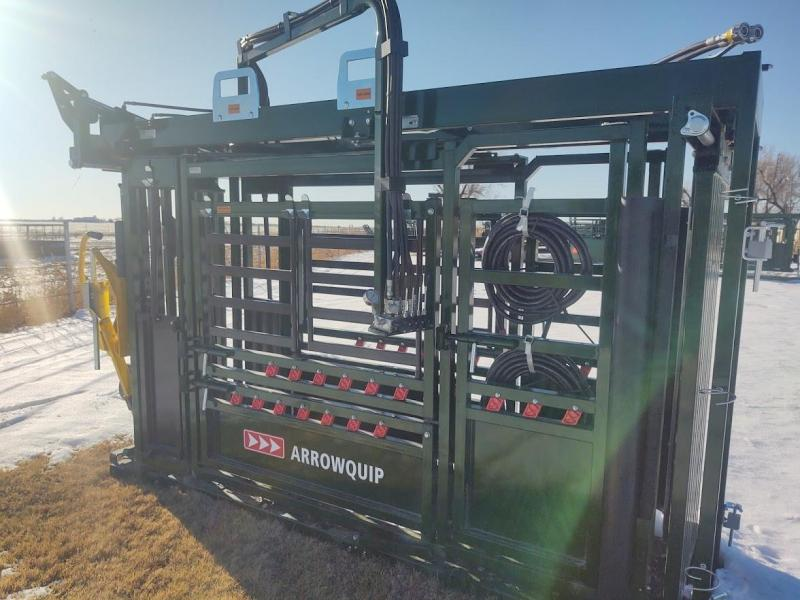 2021 Arrowquip Q-POWER 107 SERIES CATTLE CHUTE Livestock