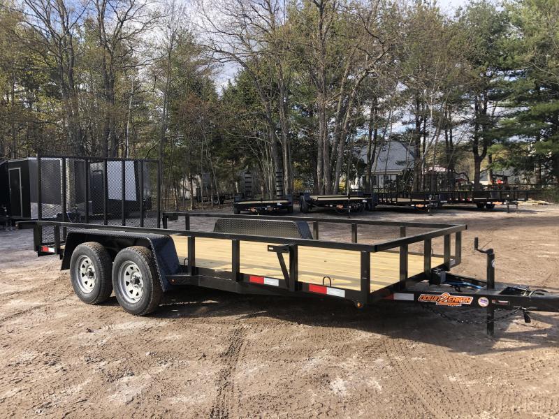 2021 D2E 7x16 Utility trailer/7000 GVWR
