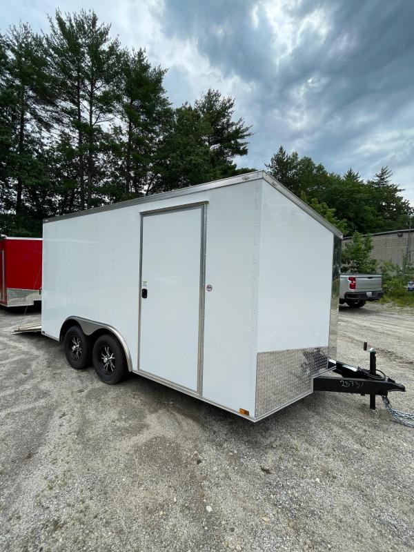"""2021 Spartan 8.5X14 +2ft V trailer/6"""" extra height/undercoated/.030"""