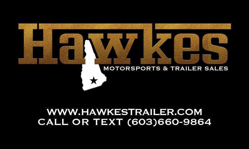 "2021 EZ Hauler 7X14 +3 ft V-Nose Aluminum trailer / 12"" extra height/ Contractor Special"