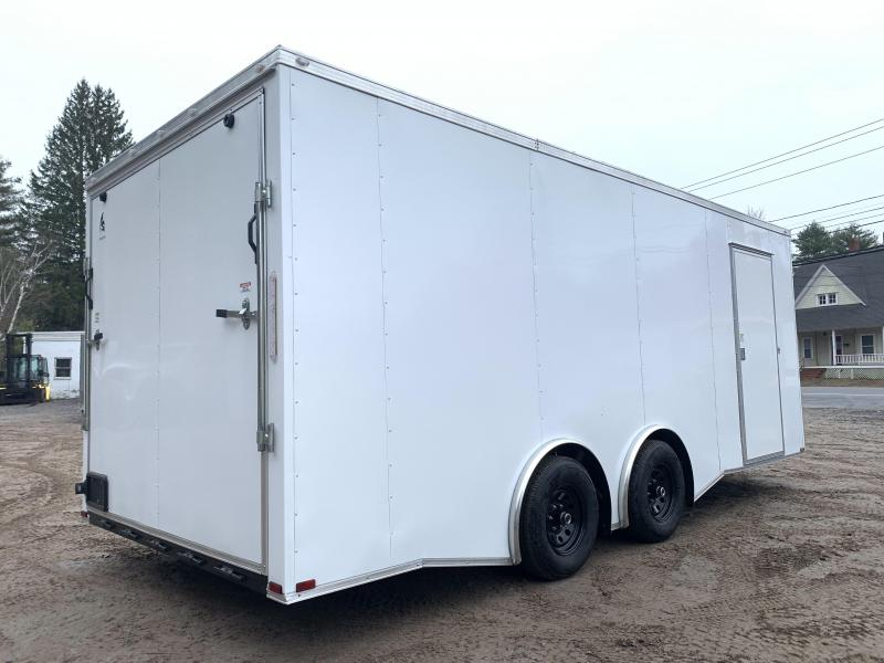 "2021 Spartan 8.5X20+2ft V trailer/12"" extra height/9990gvwr/undercoated/.030/torsion"