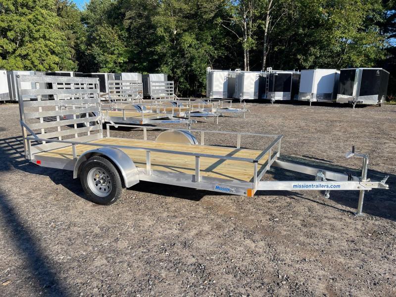 2022 Mission 6x12 aluminum utility trailer/2990GVW