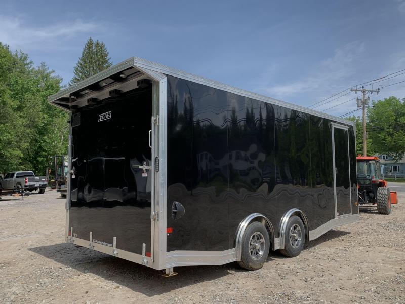 """2021 *Limited* EZ Hauler 8.5x20 Aluminum Car Hauler/9990 gvwr/12"""" extra height/torsion"""