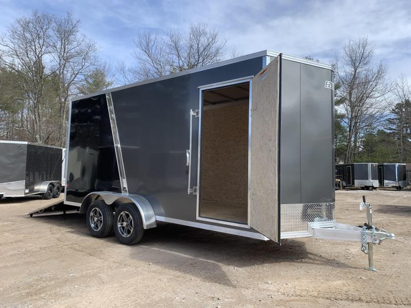 "2021 EZ Hauler 7X16+3 ft V-Nose DuraLite/Fully aluminum trailer/12"" extra height"