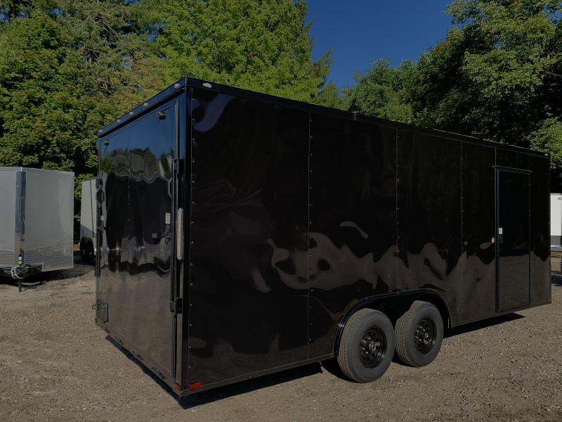 """2021 Spartan 8.5X20+2ft V trailer/12"""" extra height/ Blackout"""