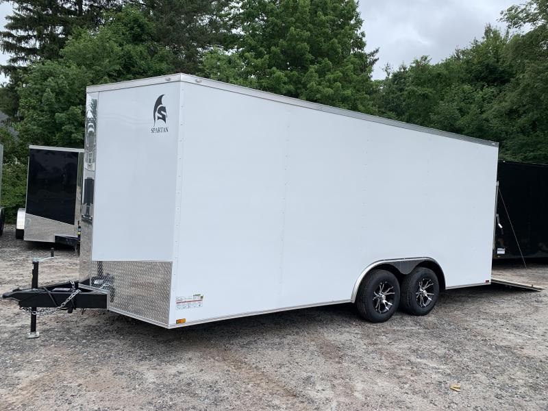 "2021 Spartan 8.5X18 +2ft V trailer/12"" extra height"